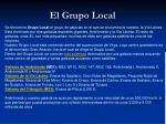 el grupo local