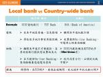 local bank vs country wide bank