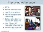 improving adherence