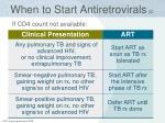 when to start antiretrovirals 2