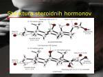 struktura steroidnih hormonov
