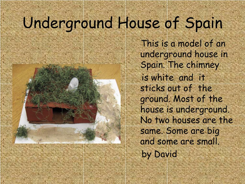 Underground House of Spain