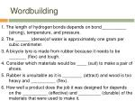 wordbuilding