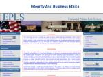 integrity and business ethics