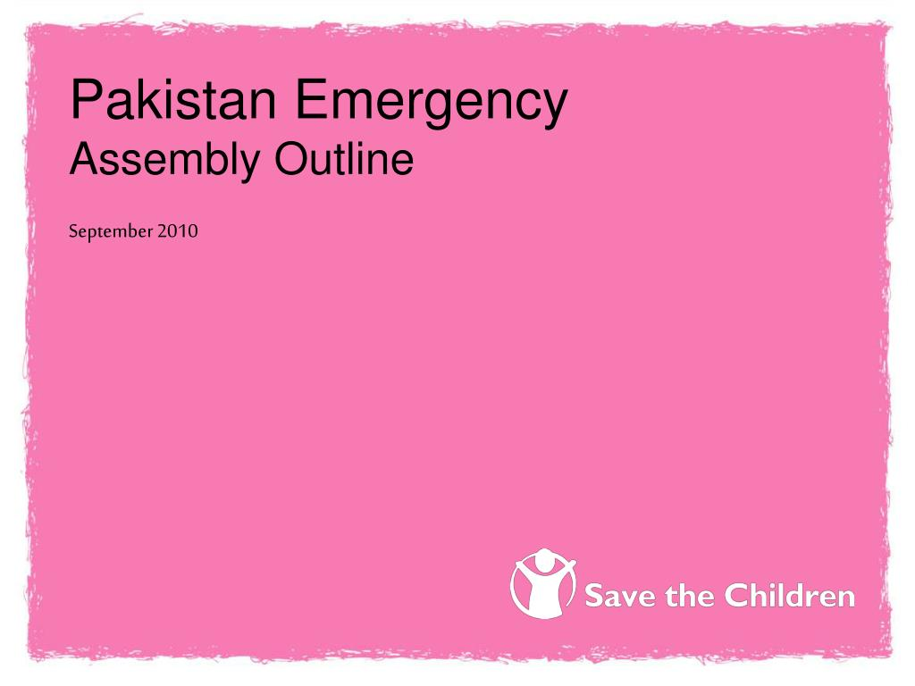 Pakistan Emergency