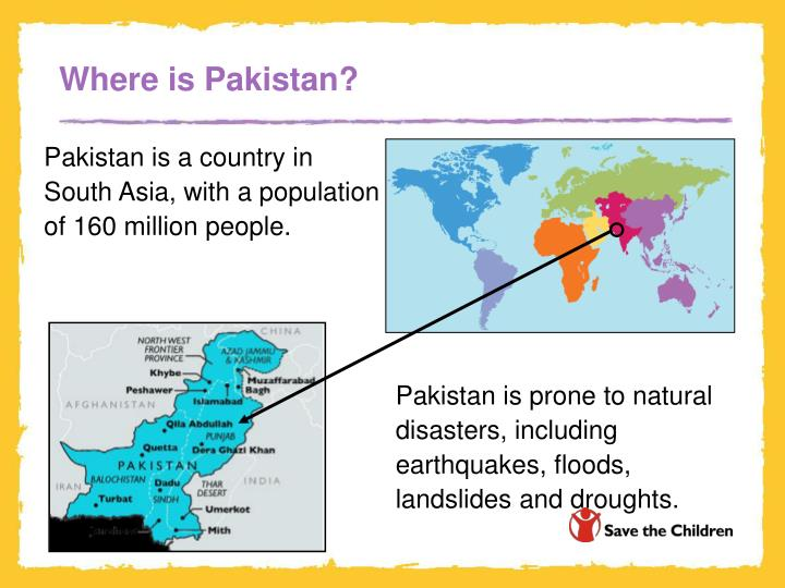 Where is pakistan