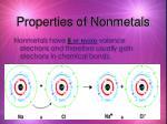 properties of nonmetals5