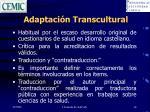 adaptaci n transcultural