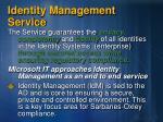identity management service