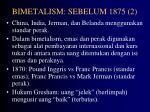 bimetalism sebelum 1875 2