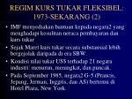 regim kurs tukar fleksibel 1973 sekarang 2