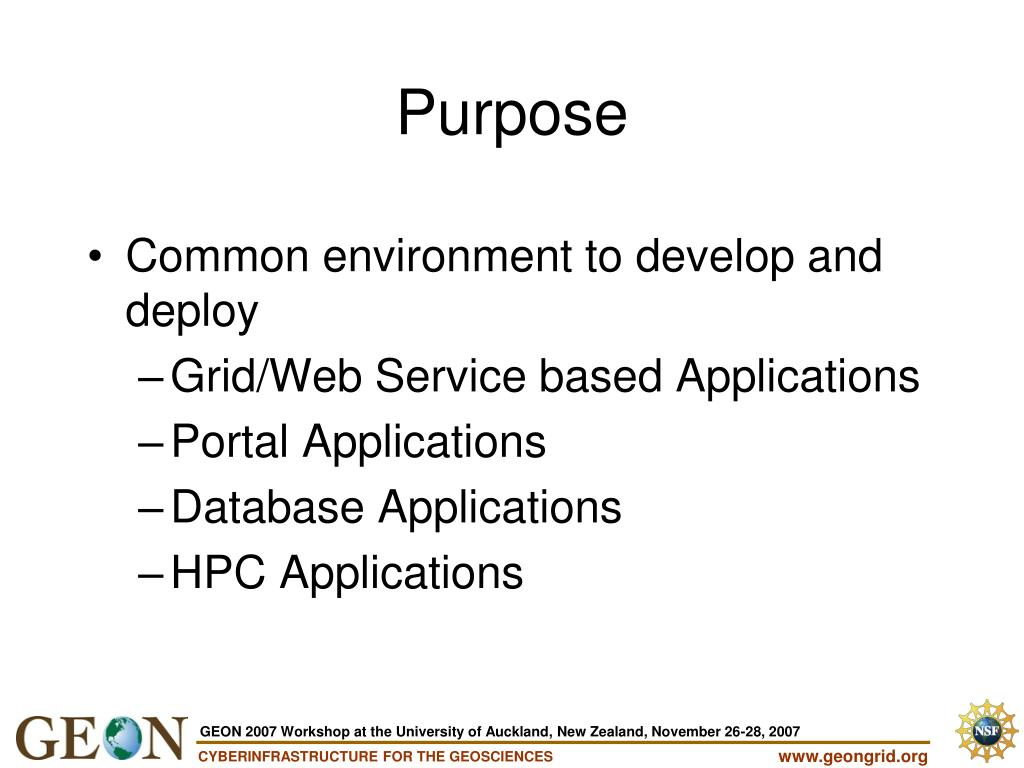 Common environment to develop and deploy