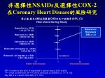 nsaids cox 2 coronary heart disease