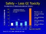 safety less gi toxicity1