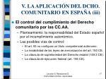 v la aplicaci n del dcho comunitario en espa a iii1