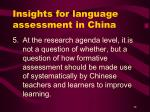 insights for language assessment in china38