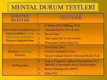 mental durum testler1