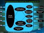 computational science portal the computing service