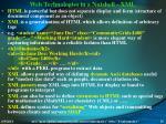 web technologies in a nutshell xml