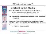 cortisol in the media