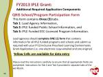 fy2013 iple grant additional required application components5