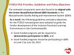 fy2013 iple priorities guidelines and policy objectives