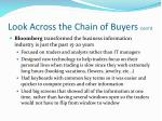 look across the chain of buyers cont d1