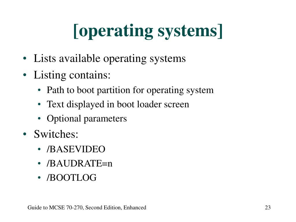 [operating systems]