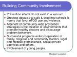 building community involvement