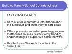 building family school connectedness1