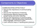 components objectives4