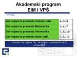 akademski program eim i vp5