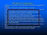 the eleven components