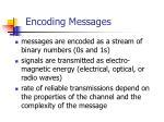 encoding messages