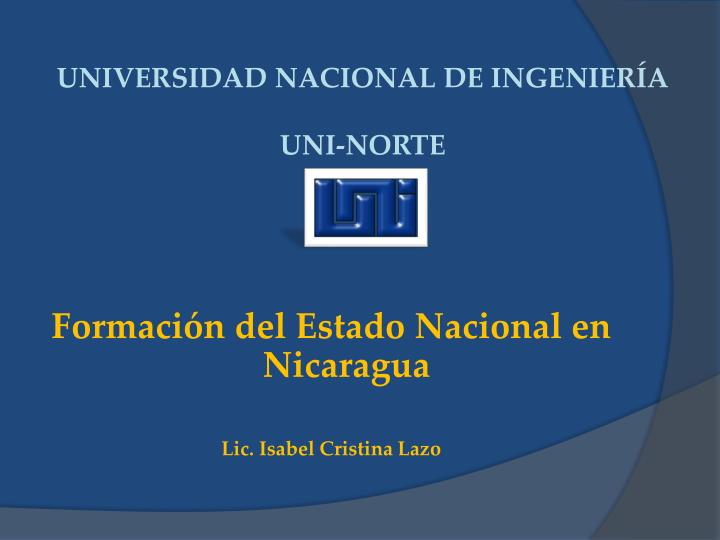 universidad nacional de ingenier a uni norte n.
