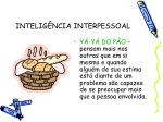 intelig ncia interpessoal1