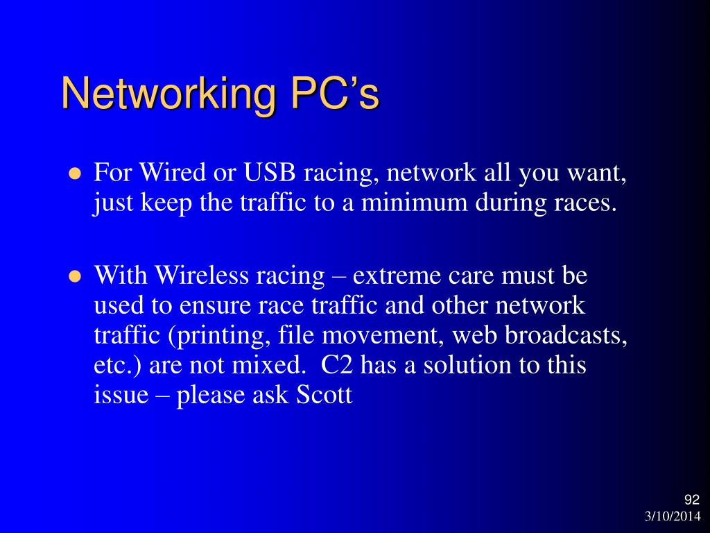 Networking PC's