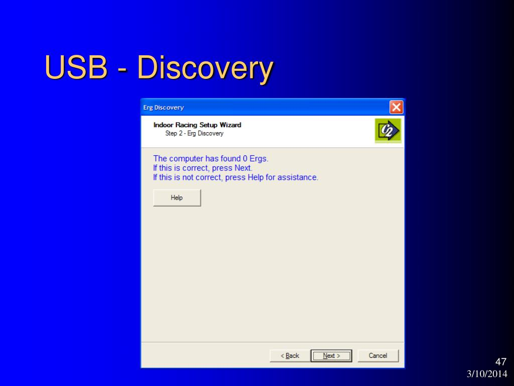 USB - Discovery