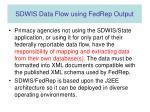 sdwis data flow using fedrep output1