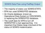 sdwis data flow using fedrep output2