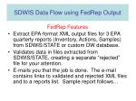 sdwis data flow using fedrep output7