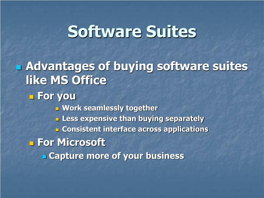 Software Suites
