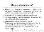 mesures techniques1