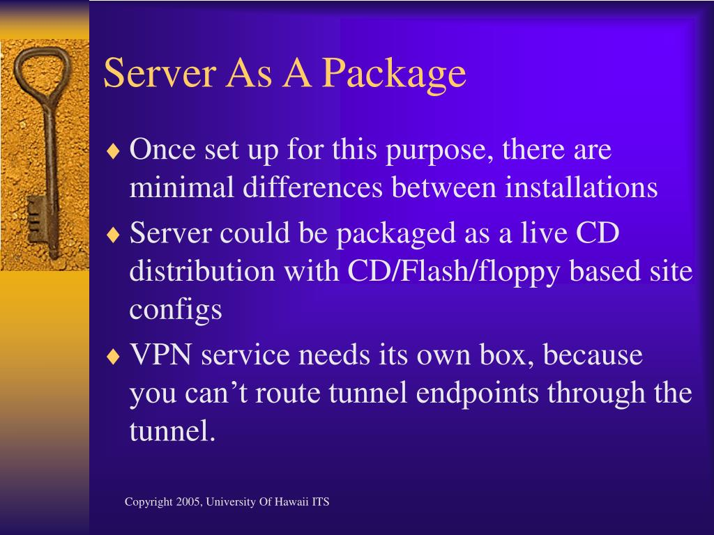 Server As A Package