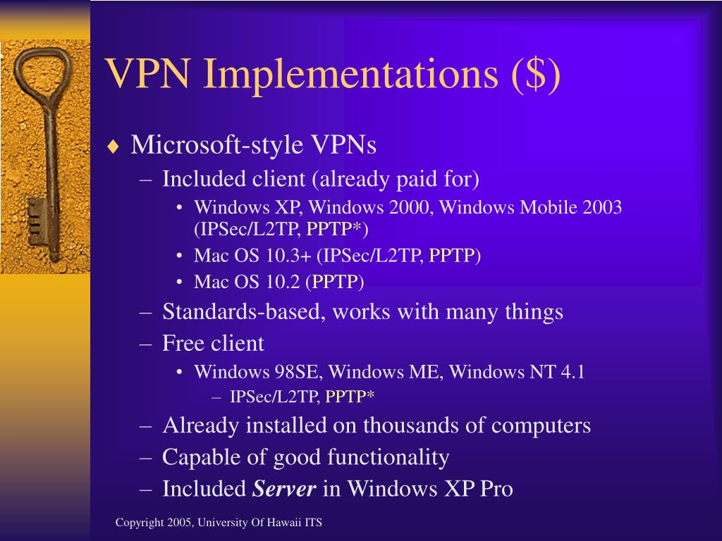 VPN Implementations ($)