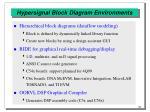 hypersignal block diagram environments