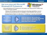 get more done with microsoft windows xp professional