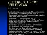 v effects of forest certification3