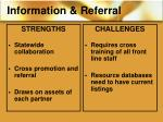 information referral