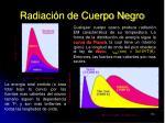 radiaci n de cuerpo negro